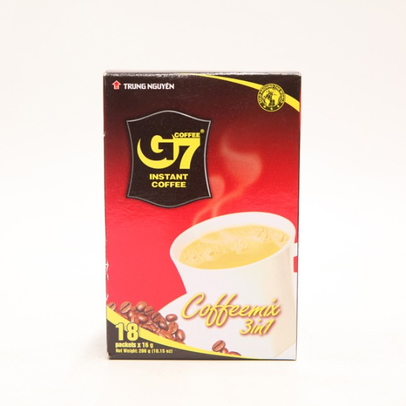 G7 3IN1 믹스커피 16g x 18입 288g